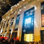 Inauguration des Galeries-Lafayette-Champs-Elysées