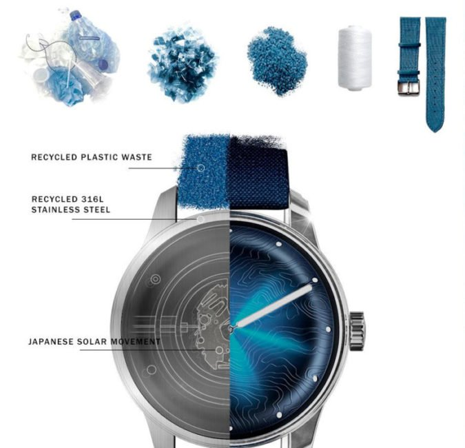 Awake collection Origins Silver Moon Watch