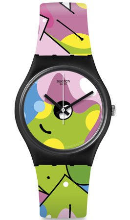 Swatch 2019 Collection Listen to me ©Moses & Taps