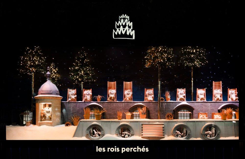 Vitrine de Noel 2019 Le Bon Marché