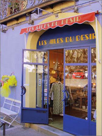 Murielle Le Ster concept store Les Ailes du Désir à Agde